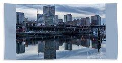 Tacoma Waterfront,washington Beach Towel