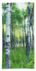 Tahoe Birch Beach Towel