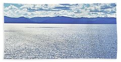 Tahoe From The East Shore Beach Towel