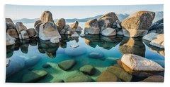 Tahoe Reflections Beach Towel