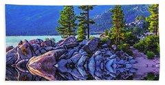 Tahoe Water Reflections Beach Towel