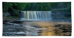 Tahquamenon Falls Beach Towel