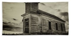 Taiban Presbyterian Church, New Mexico #2 Beach Towel
