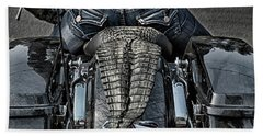 Tail Of The Dragon  Human Interest Art By Kaylyn Franks.  Beach Towel