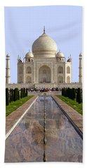 The Taj Mahal - Grand Canyon Mash-up Beach Towel