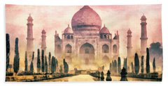 Taj Mahal Beach Towel