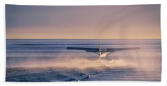 Takeoff Into The Light Beach Towel