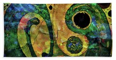Tales Of The Past  Beach Towel