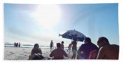 Talking About Life Beach Towel by Beto Machado