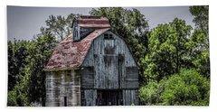Beach Sheet featuring the photograph Tall Barn by Ray Congrove