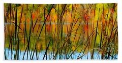 Tall Grass Abstract Beach Sheet