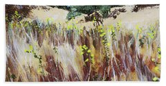 Tall Grass. Late Summer Beach Towel