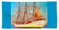 Tall Ship Beach Sheet