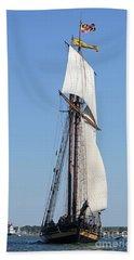 Tall Ship Baltimore Beach Towel