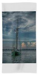 Tall Ship Beach Towel