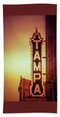 Tampa Theatre Beach Towel
