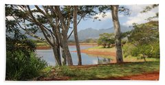 Tanada Reservoir Oahu Beach Towel