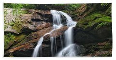 Upper Dill Falls Beach Towel
