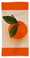 Tangerine By Nature Beach Towel