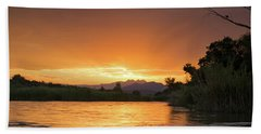 Tangerine Dream Beach Towel