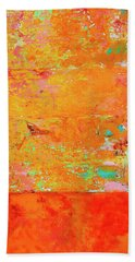 Beach Towel featuring the photograph Tangerine Dream by Skip Hunt