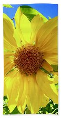 Tangled Sunflower Beach Towel