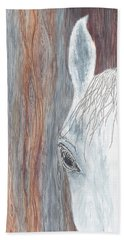 Beach Towel featuring the painting Tanglewood by Kathryn Riley Parker
