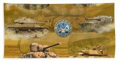 Tanks Four Beach Sheet