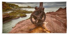 Tantallon Castle Views Beach Towel