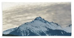 Tantalus Mountain Range Closeup Beach Towel