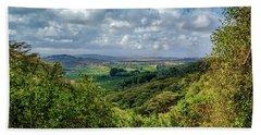 Tanzania Landscape Beach Sheet