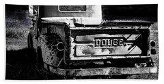 Taos Dodge B-w Beach Sheet