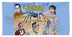 Tarantula - 1955 Lobby Card That Never Was Beach Towel