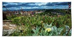 Tarragona From The Roman Wall Beach Towel