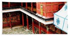 Tashilhunpo Monastery Shigatse Tibet Artmif.lv Beach Towel