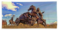 Tatanka Beach Sheet by Dave Luebbert
