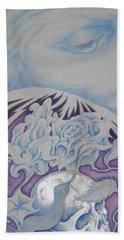 Tattooed Goddess Beach Towel