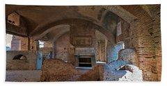 Tavern At Ostia Antica Italy Beach Towel