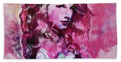 Taylor Swift - Oncore Beach Sheet by Sir Josef - Social Critic - ART