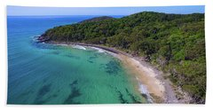 Beach Towel featuring the photograph Tea Tree Bay At Noosa by Keiran Lusk