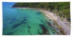 Beach Towel featuring the photograph Tea Tree Bay In Noosa National Park by Keiran Lusk