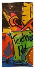 Teacher's Pet Beach Towel