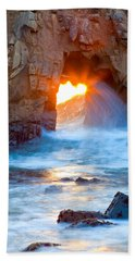 Tears Of The Sun Beach Towel by Jonathan Nguyen