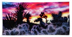 Teddy Bear Cholla Beach Sheet