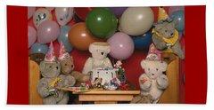 Teddy Bear Party Beach Sheet