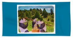 Teddy Bear Picnic Beach Towel