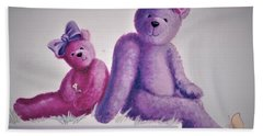 Teddy's Day Beach Towel