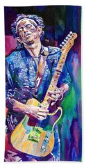 Telecaster- Keith Richards Beach Towel