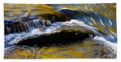 Beach Towel featuring the photograph Tellico River - D010004 by Daniel Dempster
