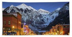Telluride Main Street 3 Beach Towel